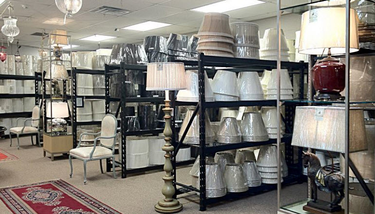 At Antiques & Beyond we have expanded our lampshades department