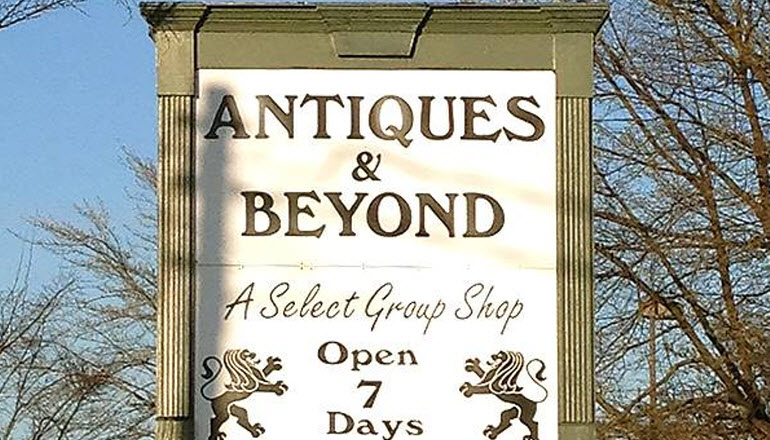 Big Sidewalk Sale at Antiques & Beyond May 3, 2014 8AM - 5PM
