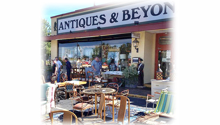 Spring Sidewalk Sale at Antiques & Beyond