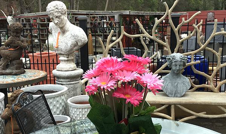 At Antiques & Beyond in Atlanta GA you'll find antiques, quality furniture, art, statuary, decorating accessories, patio items, custom lighting, & lamp shades